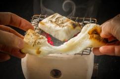 烤麻糬拉絲